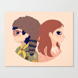 Sam and Suzy Canvas Print