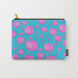 When Pigs Fly, Or Float! Carry-All Pouch
