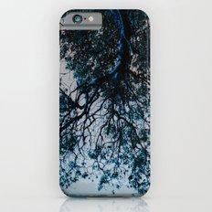 Blue Overhang Slim Case iPhone 6s