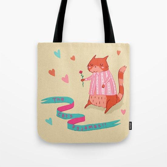 The Cat's Pyjamas Tote Bag