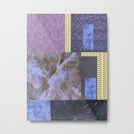 purple comfort Metal Print
