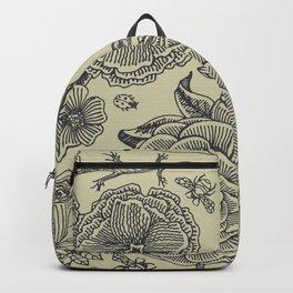 Garden Bliss - vintage floral illustrations  Backpack