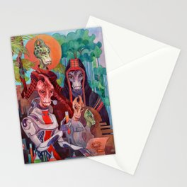 Salarians Stationery Cards