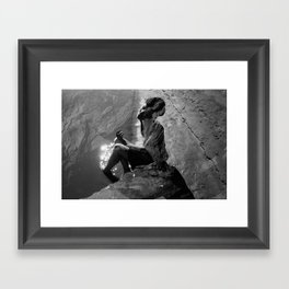 Mississippi - Self Portrait Framed Art Print