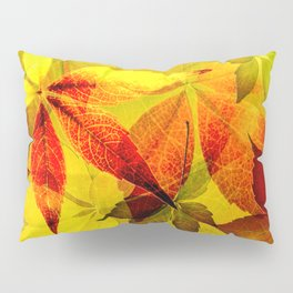 Virginia Creeper autumn colors Pillow Sham
