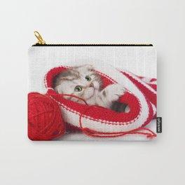 Kitten Yarn Carry-All Pouch