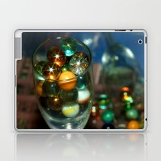 Marbles in Glass Laptop & iPad Skin
