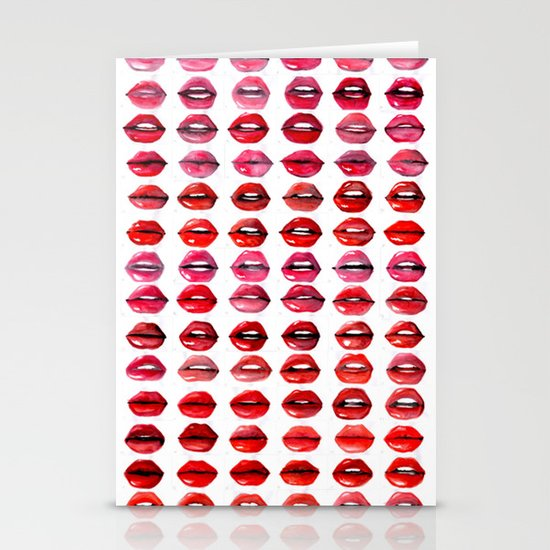Lips Quote Stationery Cards