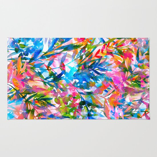 Tropic dream rug by jacqueline maldonado society6 for Dream home season 6