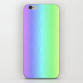 Vertical Pastels iPhone Skin