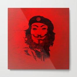 Che Anonymous Metal Print