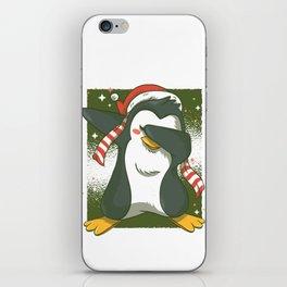 Penguin Dab iPhone Skin