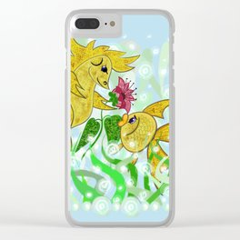 Love fish Clear iPhone Case