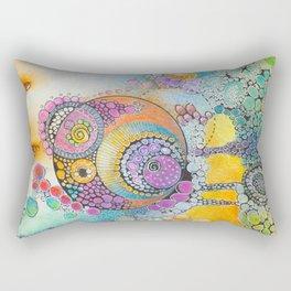 DoodleScape Rectangular Pillow