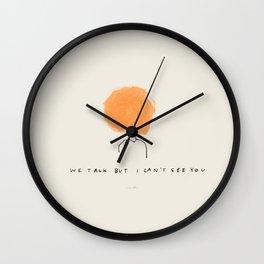 Modern Technology Wall Clock
