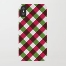 Holiday Pattern iPhone X Slim Case