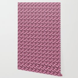 Military Camouflage Pattern - Pink Black Wallpaper
