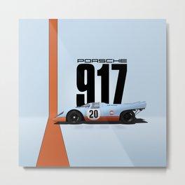 917-022 Metal Print