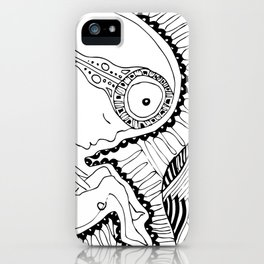 Born to live iPhone Case