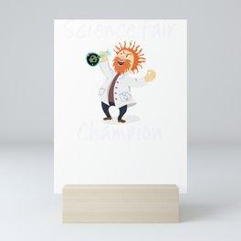 Science Fair Champion Mad Scientist Mini Art Print