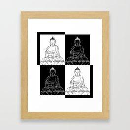 Ying & Yang Framed Art Print