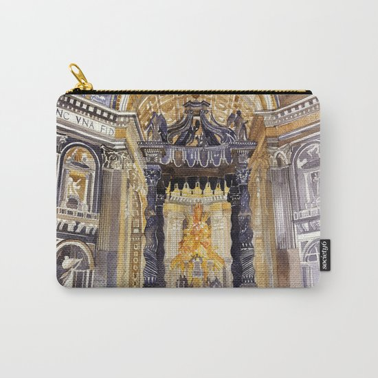 Saint Peter interior Carry-All Pouch