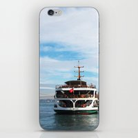 ship iPhone & iPod Skins featuring Ship by kartalpaf