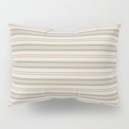 Beige Stripes Pillow Sham