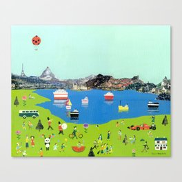 TheLakeside Canvas Print