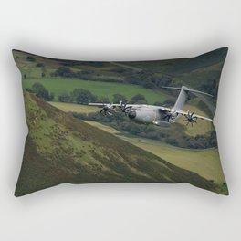 Airbus A400M At Mach Loop Rectangular Pillow