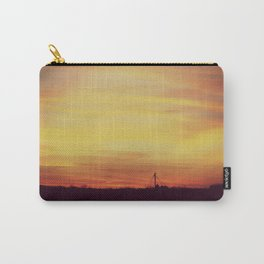 Winter Sunset Midwest Carry-All Pouch