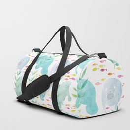 Lazy Manatees Duffle Bag
