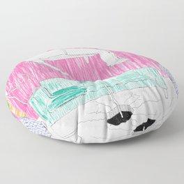 Disconnected  Floor Pillow
