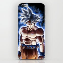 Ultra blue fighter iPhone Skin