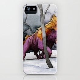 BEAST AND BEAUTIFUL iPhone Case