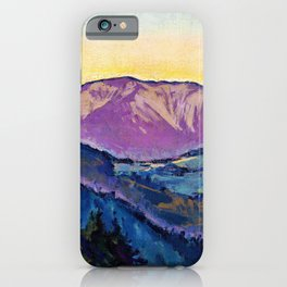 Koloman Moser - View of the Rax - Digital Remastered Edition iPhone Case