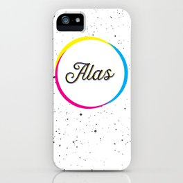 ALAS iPhone Case