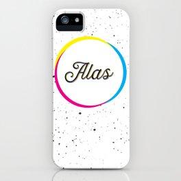 ALAS iPhone Case