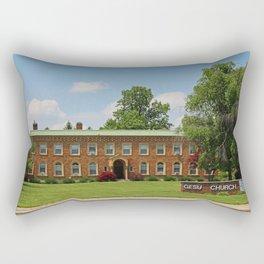 Gesu Church II Rectangular Pillow