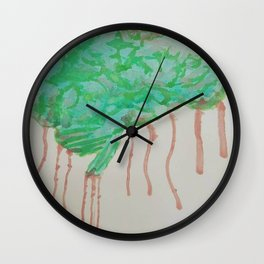 Zombie Brain Wall Clock