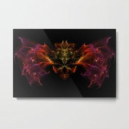 Wings of death Metal Print