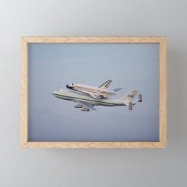1453. NASA's Space Shuttle Endeavour Framed Mini Art Print