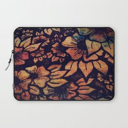 Rainbow Florals  Laptop Sleeve