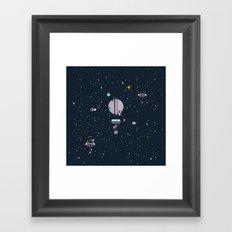 M - Triton Framed Art Print