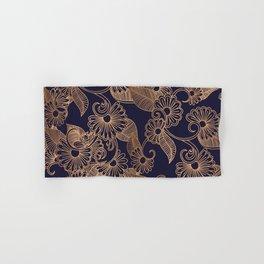 Flower Golden Hand & Bath Towel