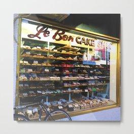 Cake Shop Metal Print