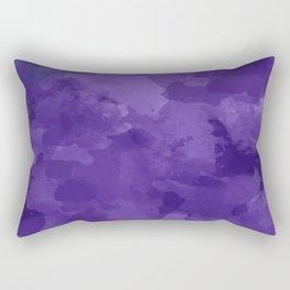 amethyst watercolor abstract Rectangular Pillow