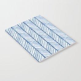 Shibori Herringbone Pattern Notebook