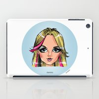 shameless iPad Cases featuring Britney Cartoon: Shameless by Eduardo Sanches Morelli