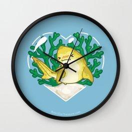 CRUSH the Lemon Shark Wall Clock